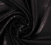 Black overlap  square sequins