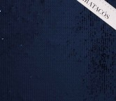 Navy overlap  square sequins