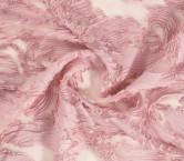 Fantasia organza cintas rosa