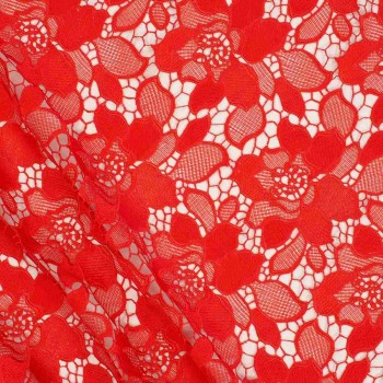 Red fantasia guipur
