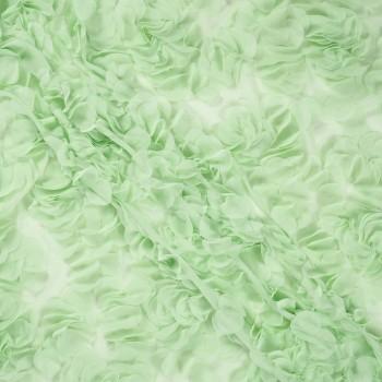 Ligth green chifÓn bordado cÍr