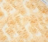 ChifÓn bordado cÍrculos 3d coral