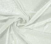 Oval hologram sequins crystal