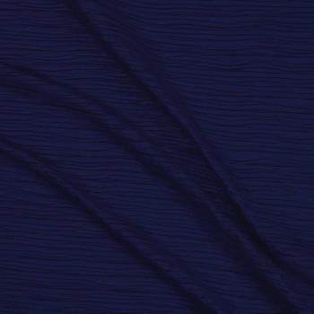 Plisado efecto papel navy