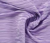 Lilac plisado irregular