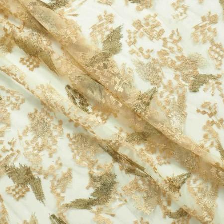 Bordado scratch dorado