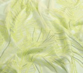 Bordado amazonia amarillo limon