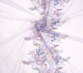 Lilac bordado floral -emb area