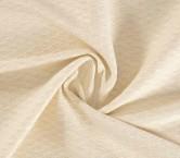 Jacquard algodon beige