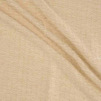 Jacquard algodon ocre
