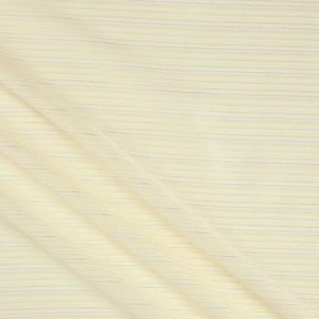 Jacquard rayas lame beige