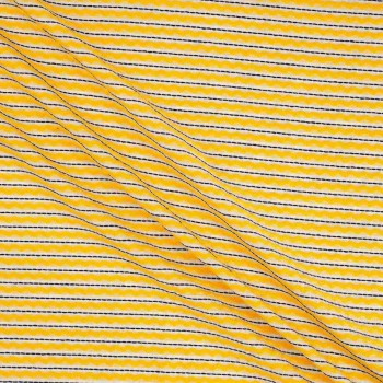 Jacquard rayas amarillo
