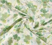 Jacquard flor lame lima verde