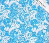 Jacquard tropical azul