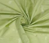 Jacquard organza lame verde