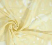 Jacquard organza amarillo