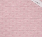 Jacquard lame topos rosa