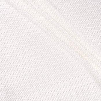 White jacquard geometrico newl