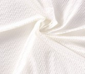 Jacquard geometrico newlife blanco