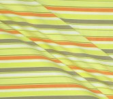 Jacquard rayas azul verde marron