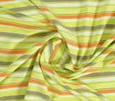Jacquard rayas verde naranja