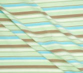 Blue green brown jacquardc ray