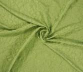 Jacquard flor verde
