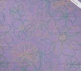Jacquard flor  lila nude turquesa