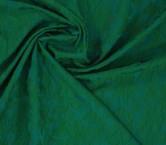 Jacquard flor verde menta