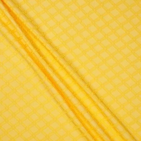 Jacquard geometrico amarillo