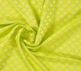 Jacquard geometrico lima amarillo