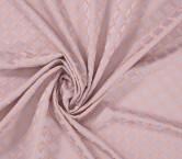 Jacquard geometrico lila rosa