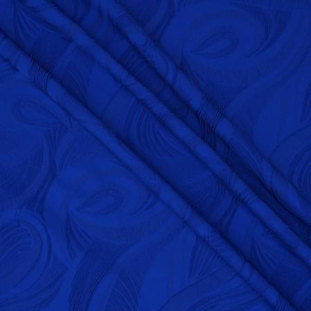 Jacquard ondas azul