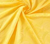 Jacquard ondas amarillo