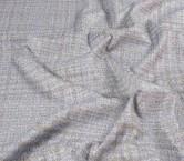 Jacquard lame azul gris