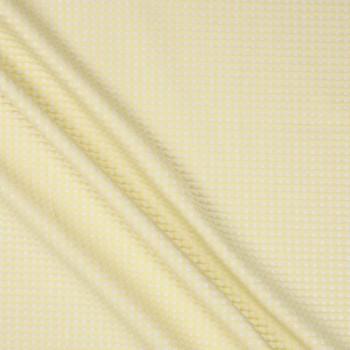 Jacquard cuadros lame amarillo