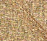 Jacquard tweed naranja amarillo