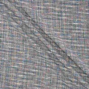 Jacquard tweed azul
