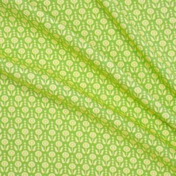 Jacquard retro verde