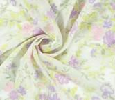 Jacquard flor lame lila rosa verde