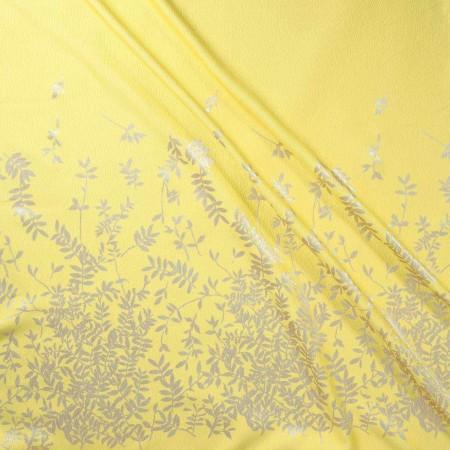 Jacquard lame pano 157 cm amarillo