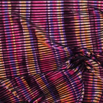 Plisado multicolor