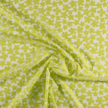 Acid green fantasia flor