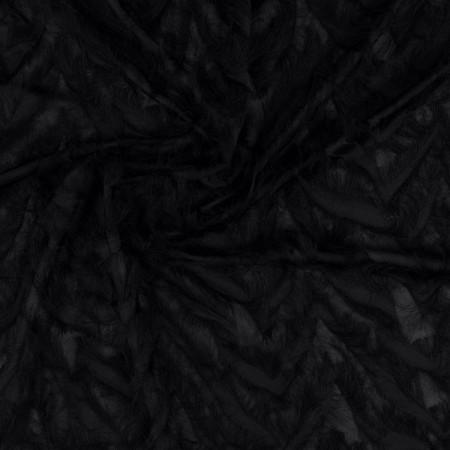 Black flecos diagonal