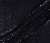 Sequins strech navy