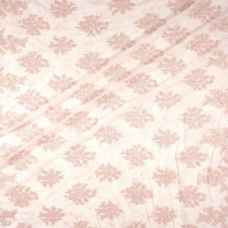 Pink bordado reborde