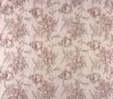 Pale pink embroidered tulle
