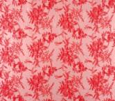 Tul bordado rosa palo