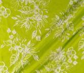 Jacquard flor lame kiwi