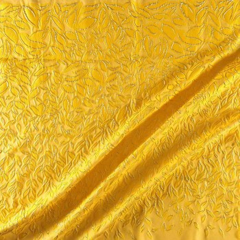 Jacquard pano 135cm amarillo